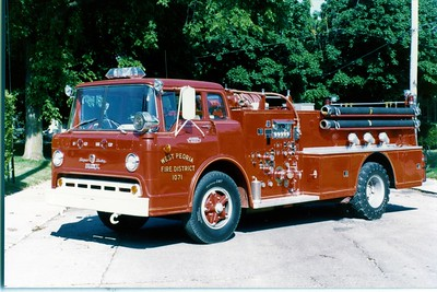 WEST PEORIA  ENGINE 1071 1963  FORD C - HOWE 750-500