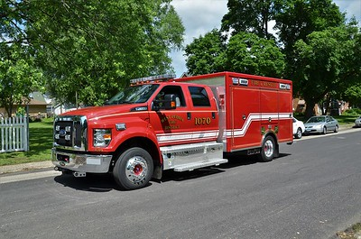 WEST PEORIA SQUAD 1070  2017 FORD F650 - PIERCE  TODD HEALY PHOTO