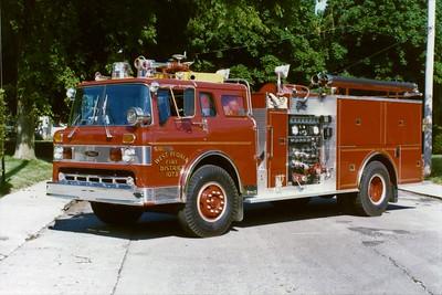 WEST PEORIA  ENGINE 1073 1983  FORD C8000 -