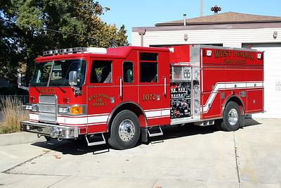 WEST PEORIA ENGINE 1072  2005 PIERCE ENFORCER  1500-750-30F   #16345