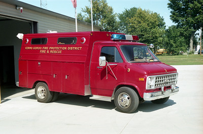 CERRO GORDO  RESCUE 3   CHEVY -