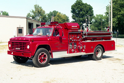 CERRO GORDO  ENGINE 2   FORD F-750 - BEAN