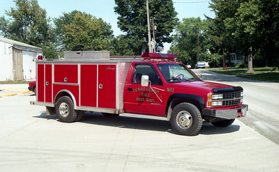 CERRO GORDO  RESCUE 1  CHEVY 3500 - ALEXIS
