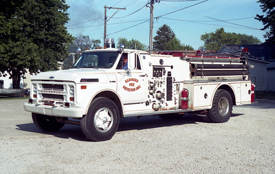 HAMMOND  ENGINE   CHEVY C60 - HOWE