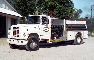 HAMMOND  ENGINE  FORD L-800 - PIERCE