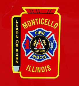 DOOR LOGO BILL FRICKER PHOTO  sc 1 st  Illinois Fire Trucks & MONTICELLO FIRE AND RESCUE - DGFD147