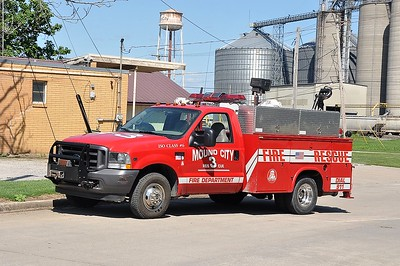 MOUND CITY FD  RESCUE  FORD F350 - 4X4 - FD BUILT   SMITH BROTHERS PHOTO