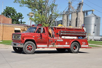 MOUND CITY FD  ENGINE 31  1984  CHEVY C60 - TOWERS   750-750   #1794   SMITH BROTHERS PHOTO