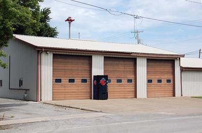 ULLIN FD FIRE STATION   DAVID HORNACEK PHOTO