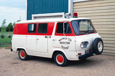 MAGNOLIA RESCUE 13   FORD VAN