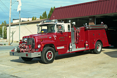 SPARTA FD  ENGINE 14 FORD L - TOWERS
