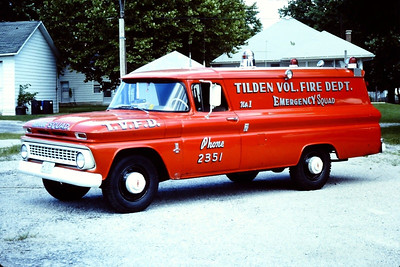 TILDEN RESCUE 1  1963 CHEVY 30W