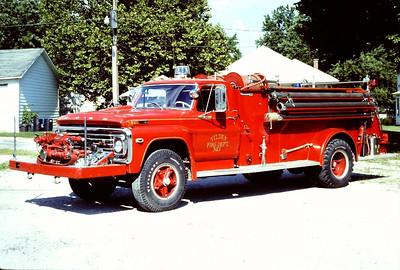 TILDEN ENGINE 3  1972 FORD F - BOARDMAN  500-500