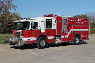 ENGINE 1653 2012 PIERCE SABER PUC 1250 - 100  FRANK WEGLOSKI PHOTO