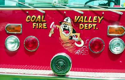 COAL VALLEY ENGINE 4 LOGO