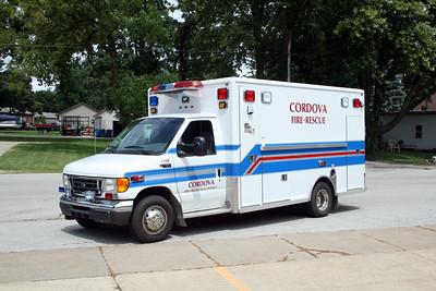 CORDOVA  RESCUE 1108  2005 FORD E450 - LIFE LINE  #174604