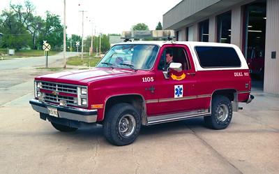CORDOVA CAR 1105  1987 CHEVY BLAZER