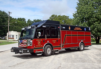CORDOVA  ENGINE 1104   2015 ROSENBAUER COMMANDER - CENTRAL STATES