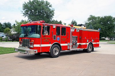 COYNE CENTER  ENGINE 2  1996 HME-ALEXIS  1500-500  #1605