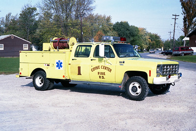 COYNE CENTER  RESCUE 1  1977 CHEVY - MOLINE BODY  250-250