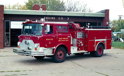 EAST MOLINE  ENGINE 3  MACK CF