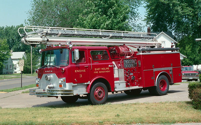EAST MOLINE  ENGINE 3  MACK CF TSQT
