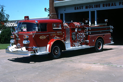 EAST MOLINE  ENGINE 4  1963 ALFCO  1000-500   RON HEAL PHOTO