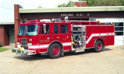 EAST MOLINE  ENGINE 3  PIERCE SABER
