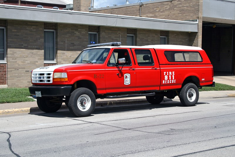 EAST MOLINE  RESCUE 22   1993 FORD F250