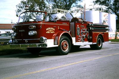 MOLINE ENGINE 4  1964 ALFCO  1000-   RON HEAL PHOTO