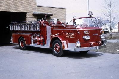 MOLINE ENGINE 5  1964 ALFCO  1000-   RON HEAL PHOTO