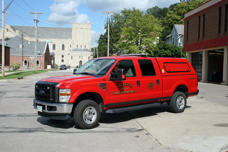 MOLINE  DISTRICT 11   2009 FORD F250