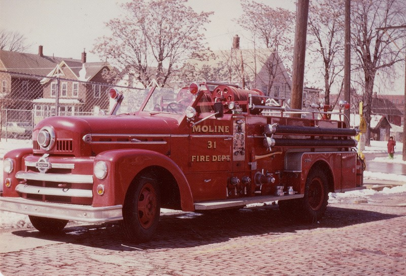 MOLINE  ENGINE 31  1960  SEAGRAVE 531KB  1000-300  L-6060