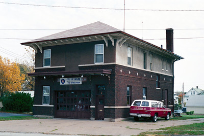 MOLINE STATION 2  NOW HOME TO THE SECOND ALARMERS
