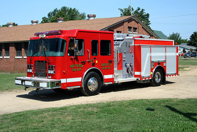 PORT BYRON - RAPIDS CITY FPD  ENGINE 3  2008 MONROE FIRE SCHOOL