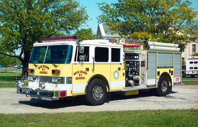 ROCK ISLAND ARSENAL  ENGINE 1  PIERCE ARROW