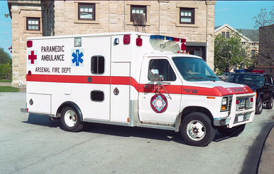 ROCK ISLAND ARSENAL  AMBULANCE