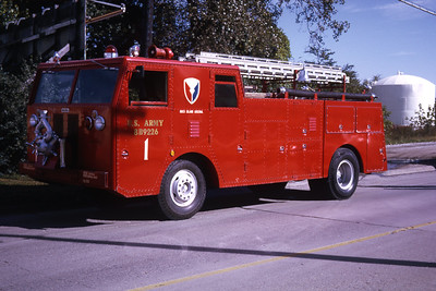 ROCK ISLAND ARSENAL ENGINE 1   1971 WLF   RON HEAL PHOTO
