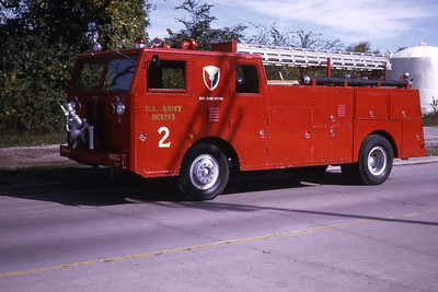 ROCK ISLAND ARSENAL ENGINE 2   1971 WLF   RON HEAL PHOTO