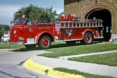 ROCK ISLAND  ENGINE 4  1954 ALFCO 700  1000-150  #L5171