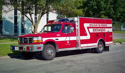 ROCK ISLAND  1995 FORD F - ALEXIS   #S-532