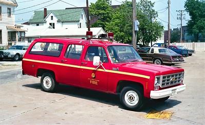 ROCK ISLAND  CAR 1  1978 CHEVY SUBURBAN