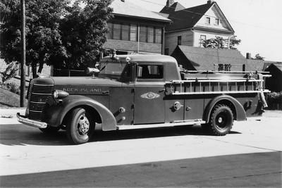 ROCK ISLAND  ENGINE  1945 ALFCO  750-125