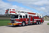 SILVIS LADDER 4657  2011 PIERCE VELOCITY  1500-300-100'  #24385
