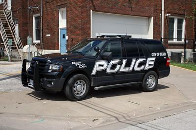 SILVIS IL POLICE CAR