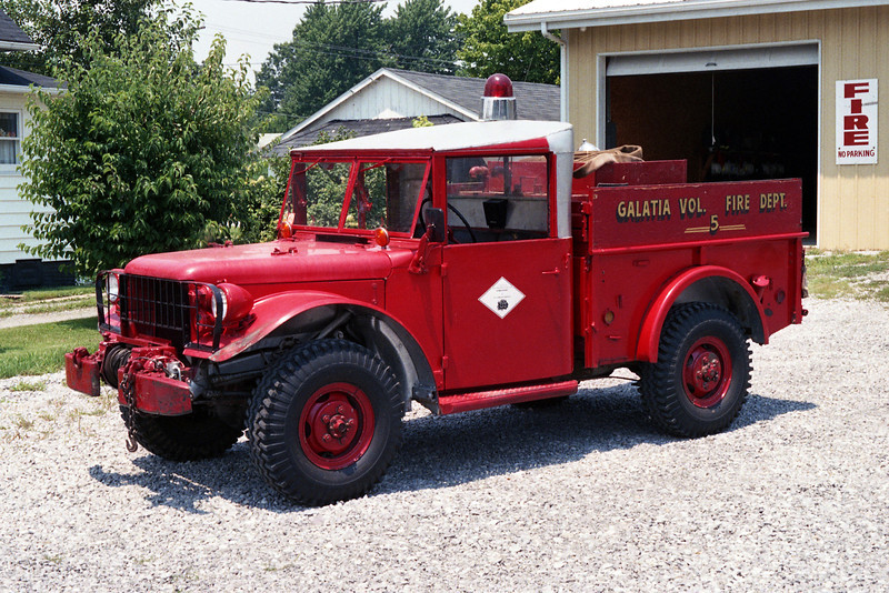 GALATIA VFD  BRUSH  JEEP