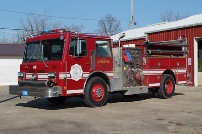 STONEFORT  ENGINE 451  1987 MAXIM F  1250-500  X- WILLIAMSON COUNTY FPD,IL & X - RICHMOND FD,VA  )30-3021)   FRANK WEGLOSKI PHOTO