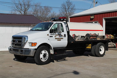 Stonefort TANKER 453  2005 FORD F650 - 2014 FD BUILT  250-2000    FRANK WEGLOSKI PHOTO