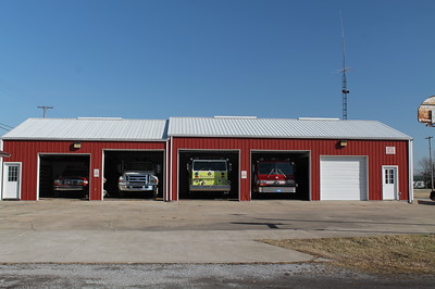 STONEFORT FD  STATION   FRANK WEGLOSKI PHOTO
