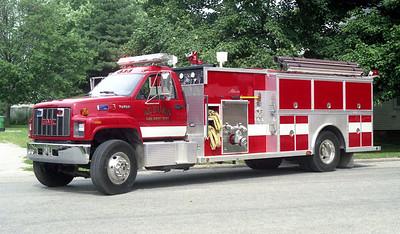 AUBURN FPD  ENGINE 3  1994  GMC TOPKICK - ALEXIS   1250-1500-50F   #1533